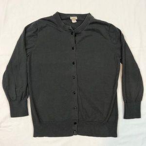 J. Crew Clare Cardigan Women's Button Sweater M